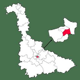 Carte : le canton de Nancy 3 dans la Meurthe-et-Moselle