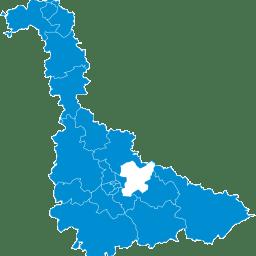 Carte : canton du Grand Couronné dans la Meurthe-et-Moselle