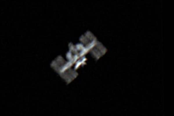 Foto ISS Francesco Pecorella