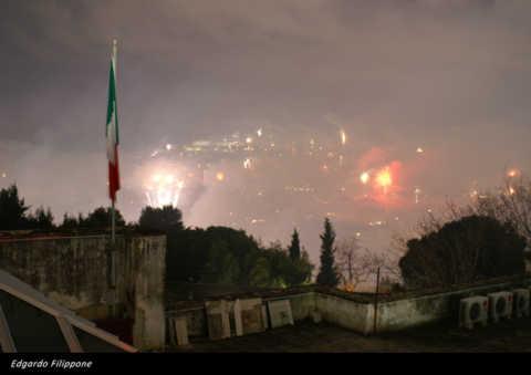 2007 - Fuochi d'artificio da Capodimonte