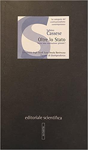 Book Cover: Oltre lo Stato : verso una costituzione globale?