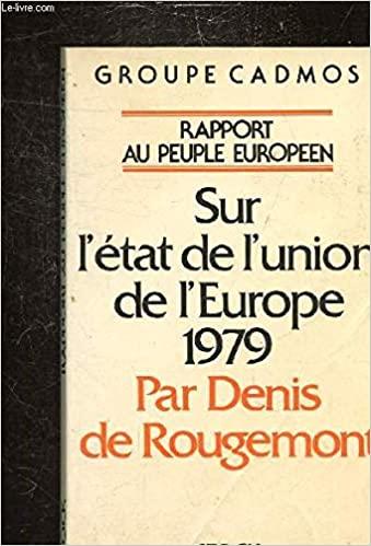 Book Cover: Rapport au peuple européen sur l'état de l'union