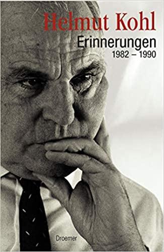 Book Cover: Erinnerungen : 1982-1990