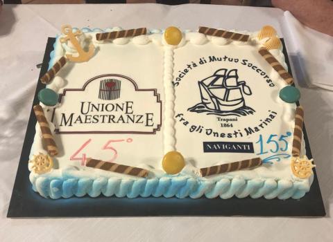 155° di fondazione della Società di Mutuo Soccorso ed il 45° di fondazione dell'Unione Maestranze.