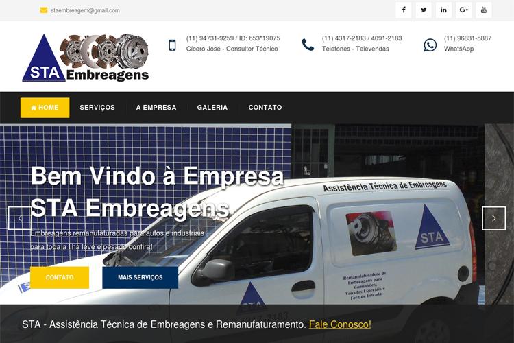 STA Embreagens Especializada Na Linha Pesada Autos e Industriais