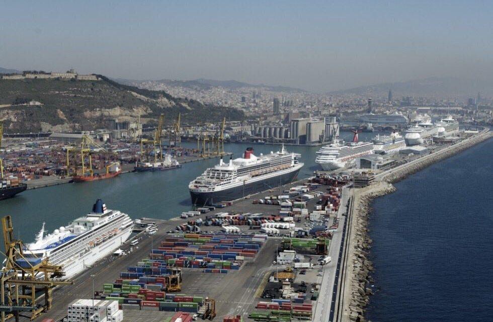 UniónGC denuncia la situación en el Puerto de Barcelona