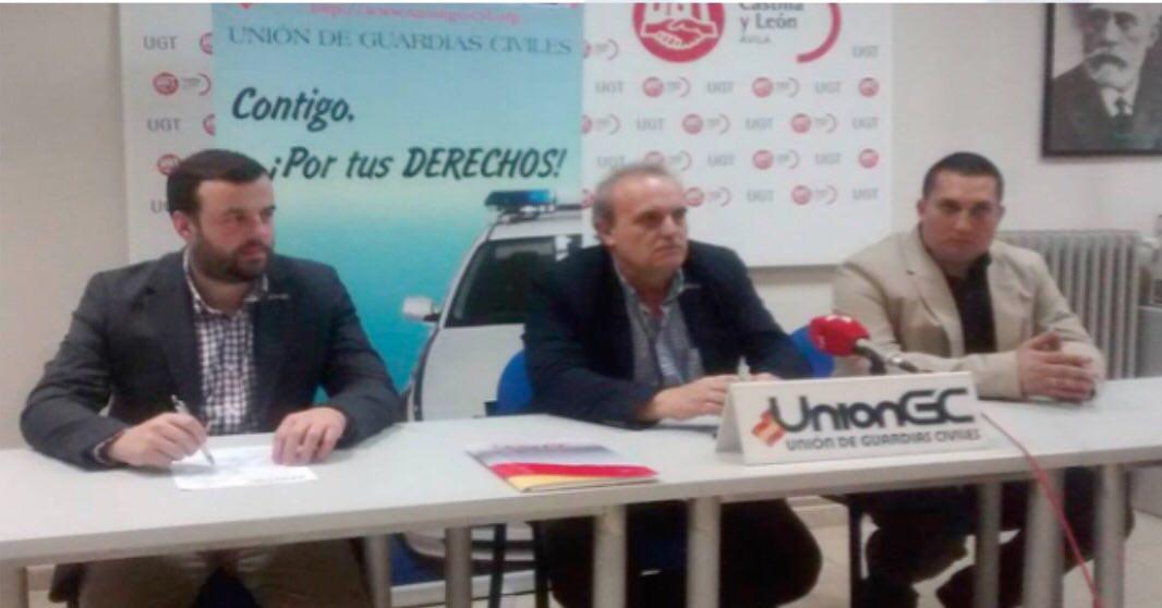 Presentación del nuevo cargo de UniónGC en Ávila