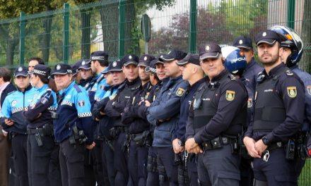 En Valladolid, apoyo a compañeros en Alsasua