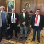 Reunion de UNIONGC con el Director general de la Guardia Civil