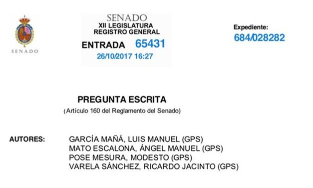 UnionGC lleva al Senado la situación precaria en la que se encuentran los @guardiacivil y @policia destacados en #Cataluña