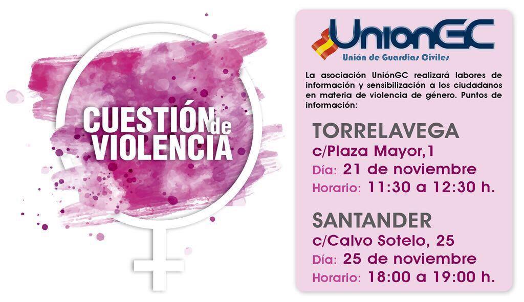 UniónGC inicia una campaña de sensibilización contra violencia de género