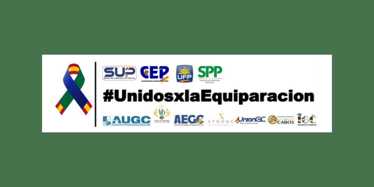 Reunion conjunta de sindicatos y asociación con el SES sobre #EquiparacionYa