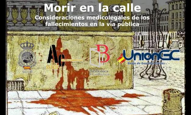 """Conferencia sobre """"Consideraciones médico-legales de fallecimientos en la vía pública""""."""