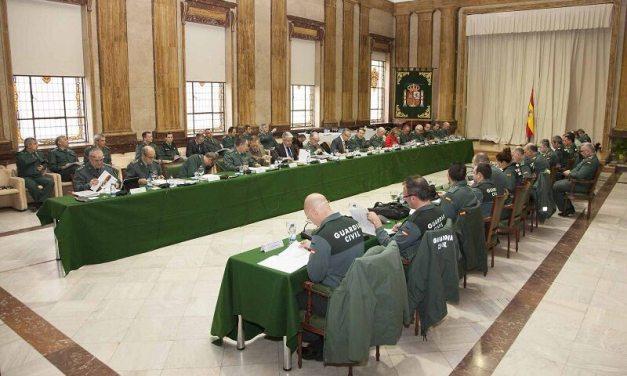 Sesion extraordinaria del Consejo de la Guardia Civil