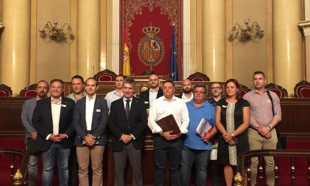 UnionGC junto a algunas de las asociaciones de Guardia Civil y sindicatos se reúnen con el portavoz del PP en el Senado