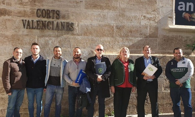 UnionGC se reúne con Vox en las Cortes Valencianas