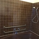 Victoriana ADA accessible shower