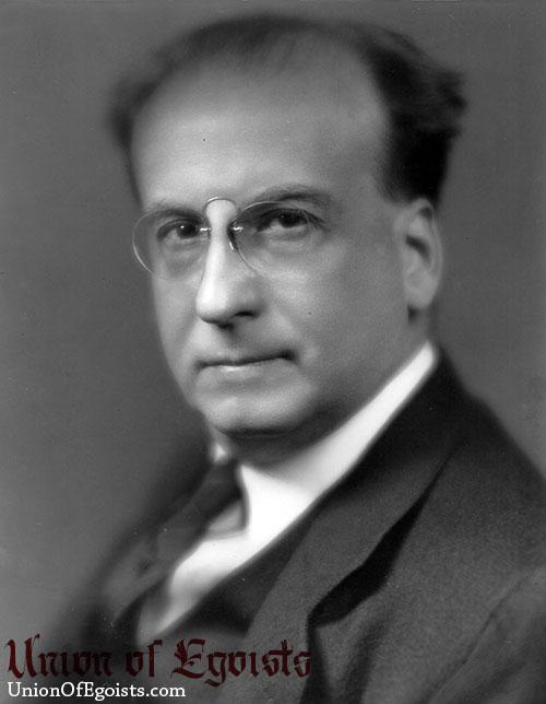Portrait of Benjamin DeCasseres