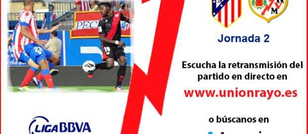 Sigue el Rayo B – Torrejón y el Atleti – Rayo en Unión Rayo
