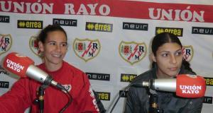 Previas de los equipos femeninos con Alex y Jeni
