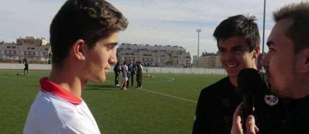 Juvenil A 3-0 Getafe A con Shafa y Alberto