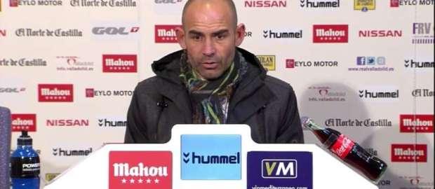 Jémez tras el Valladolid 0-0 Rayo de Copa