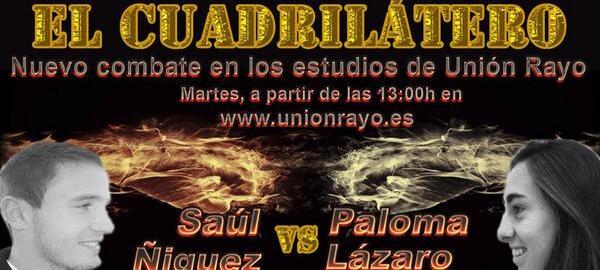 1º Combate: Saúl contra Paloma Lázaro