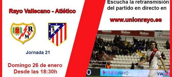 PROGRAMA: Previa Rayo – Atlético