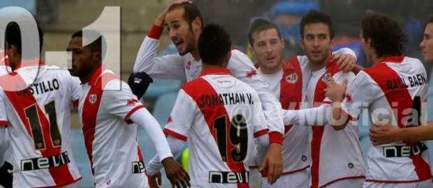 Getafe 0-1 Rayo Vallecano