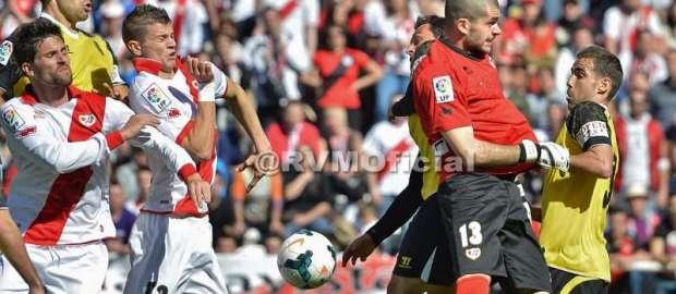 Así sonó el Rayo 0-1 Sevilla