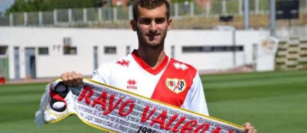Presentación de Leo Baptistao como jugador del Rayo Vallecano