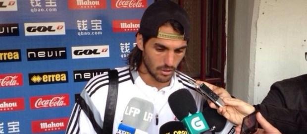 """Larrivey tras el Rayo 1-0 Celta: """"Me emocioné al principio del partido"""""""