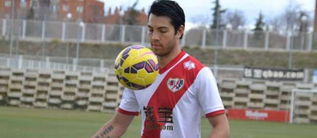 Presentación de Miku como nuevo jugador del Rayo Vallecano