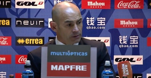 """Paco Jémez tras el Rayo 1-0 Málaga: """"La defensa ha estado hoy inconmensurable"""""""