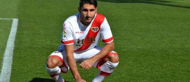 Presentación de Ozbiliz como nuevo jugador del Rayo Vallecano