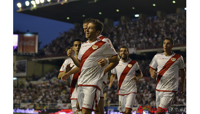 Gol Embarba Rayo 3-0 Cádiz