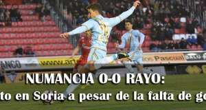 Crónica: Numancia 0-0 Rayo