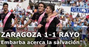 Crónica: Zaragoza 1-1 Rayo