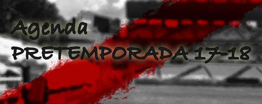 Agenda Pretemporada Rayo Vallecano 2017-2018