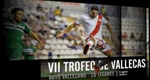 Entradas para el Rayo – Leganés en el Trofeo de Vallecas