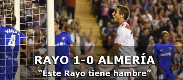 Crónica: Rayo Vallecano 1-0 Almería