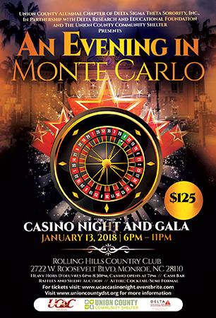 An Evening in Monte Carlo Casino Night and Gala