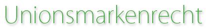 unionsmarkenrecht logo