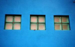 Blue is popular in web design