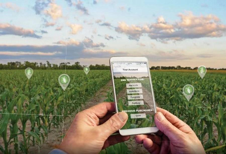E-commerce in farming