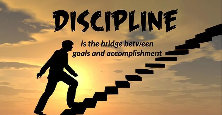 Discipline when running an e-commerce business