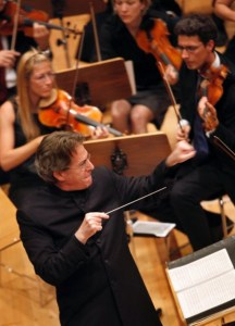 Guest Conductor Richard Rosenberg at a Performance in Munich