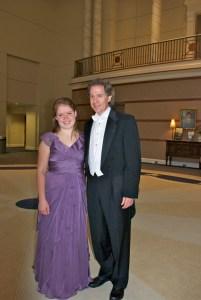 Joanna Reeder and Maestro Rosenberg