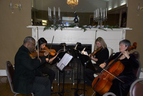 USO Musicians at Gala