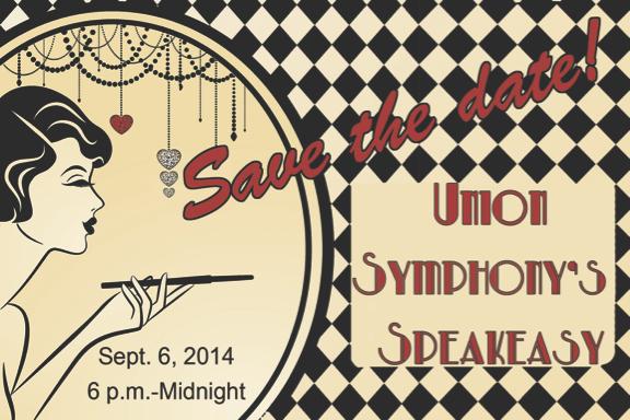 Save the Date for Speakeasy Jazz Celebration! Saturday, September 6, 2014